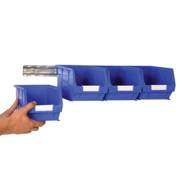 Multi Stor Wall Rail & Topstore Container Small Parts Storage Kits