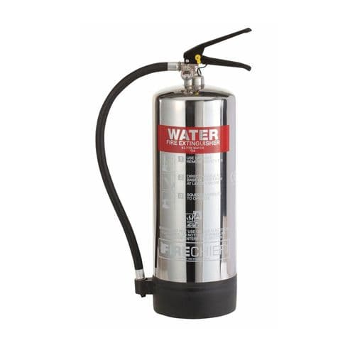 Polished Stainless Steel Water Fire Extinguishers