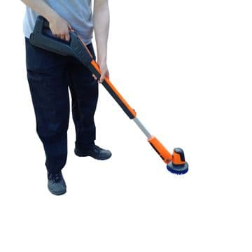 Power Brush XL Battery Powered Floor, Stairs & Vehicle Cleaning Multi Scrubber