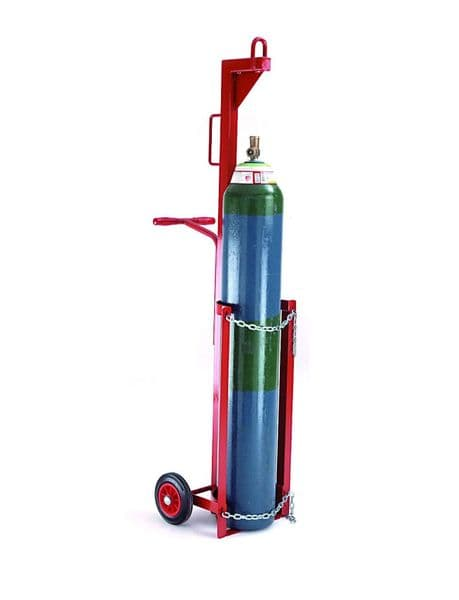 Single & Double Gas Cylinder Lifting Trolley