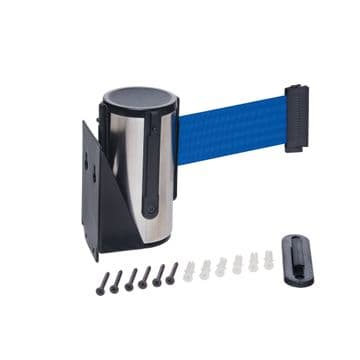 Stainless Steel Wall Mounted Retractable Belt Barrier