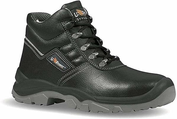 UPower Reptile Black Hiker Safety Boots S3 SRC