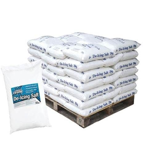White Winter De-icing Salt - 42 x 25kg bags