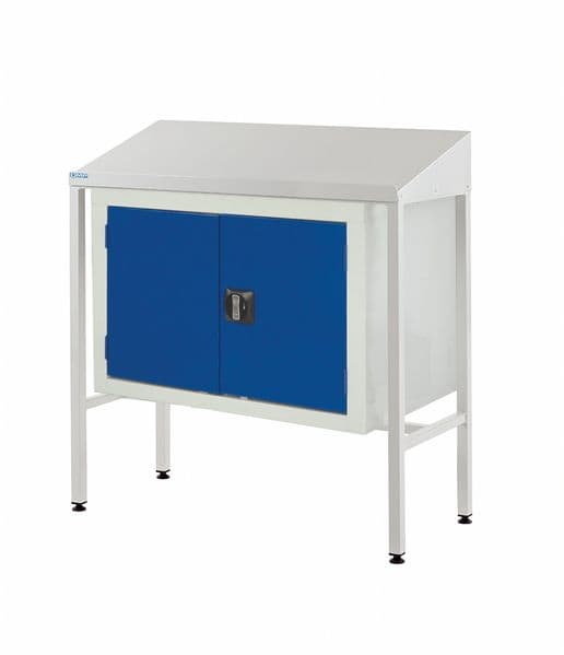 Workstation with Double Cupboard