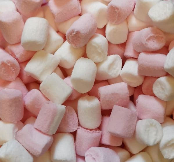 Haribo Pink and White Mallows