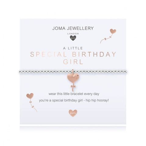 Joma Children's A Little Special Birthday Girl