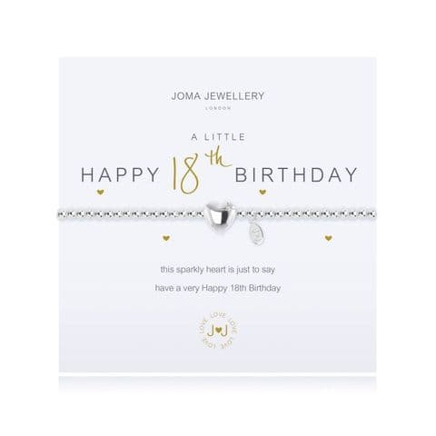 Joma Jewellery - 18th Birthday Bracelet