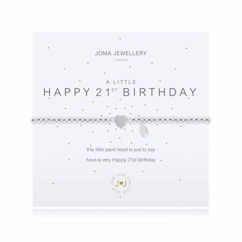 Joma Jewellery - 21st Birthday Bracelet