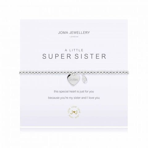 Joma Jewellery - A little super sister Bracelet