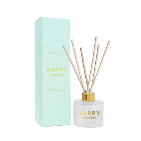 KATIE LOXTON | SENTIMENT REED DIFFUSER | BE HAPPY | POMELO AND LYCHEE FLOWER