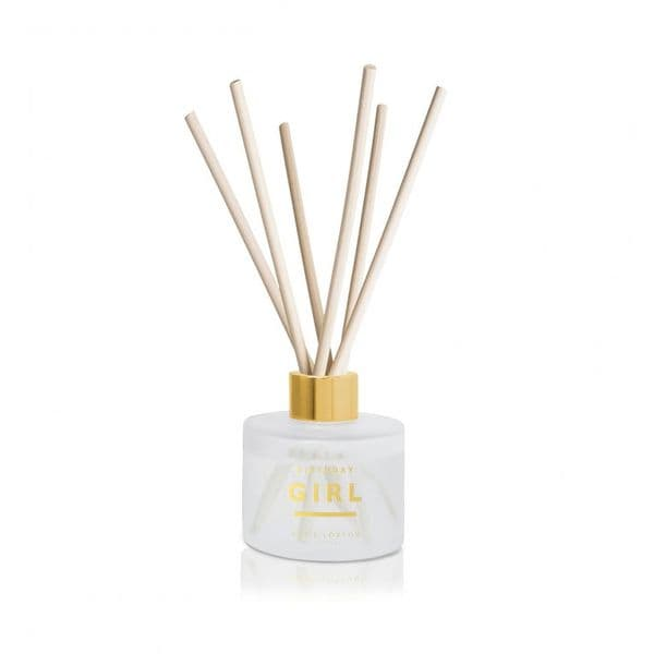 KATIE LOXTON |SENTIMENT REED DIFFUSER | BIRTHDAY GIRL | GRAPEFRUIT AND PINK PEONY