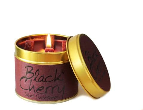 Lily Flame Black Cherry Candle