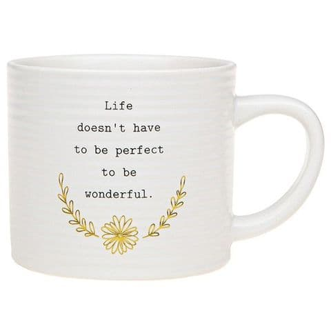 Thoughtful Words Mug Life