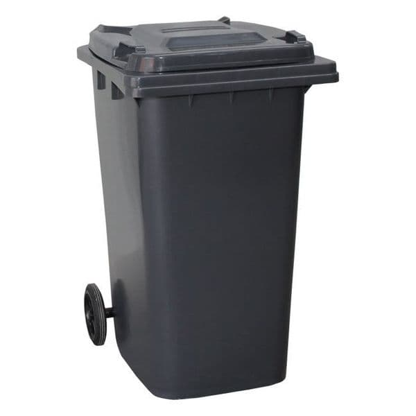 240lt Coloured Wheelie Bin