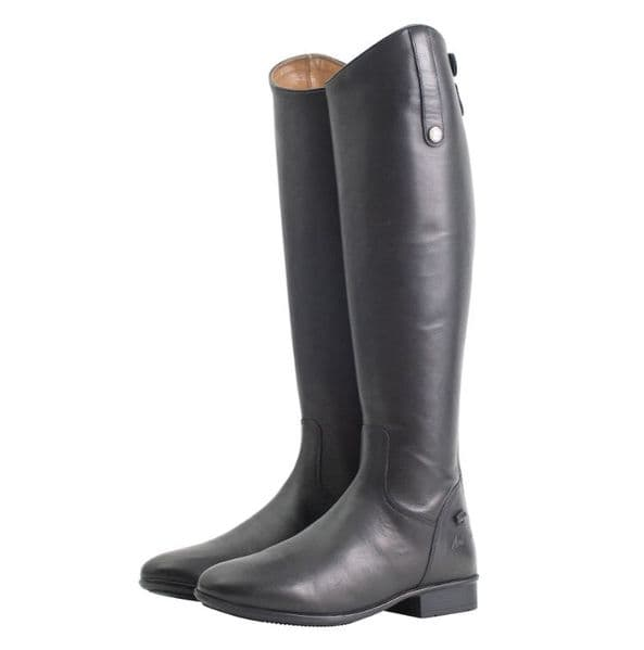 Mark Todd Leather Riding Boots Short Black - Standard Calf