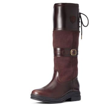 Ariat Women's Langdale Waxed Chocolate H2O Waterproof Boots