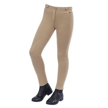 Dublin Supa-Fit Zip Up Knee Patch Children's Jodhpurs