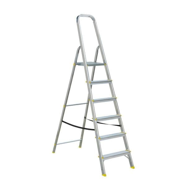 Folding Aluminium Platform Step Ladders