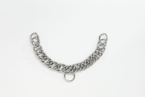 Heavy S.S. Double Link Curb Chain