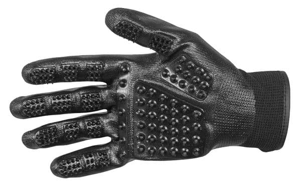 Mark Todd Grooming Gloves One Size in Black