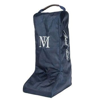 Mark Todd Padded Pro Luggage Boot Bag Navy & Chocolate