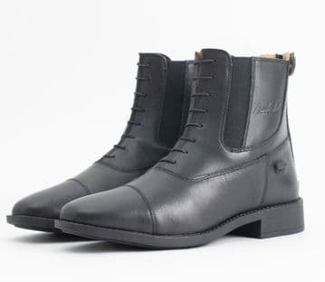 Mark Todd Short Competition Boots (Back Zip) Black
