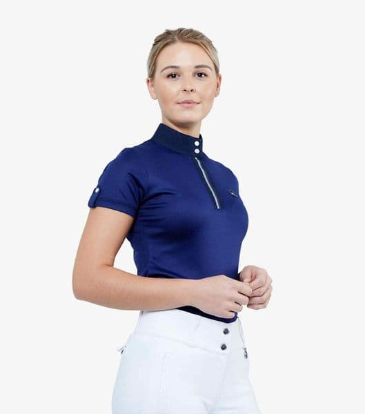 Premier Equine Amia Ladies Technical Short Sleeved Riding Top