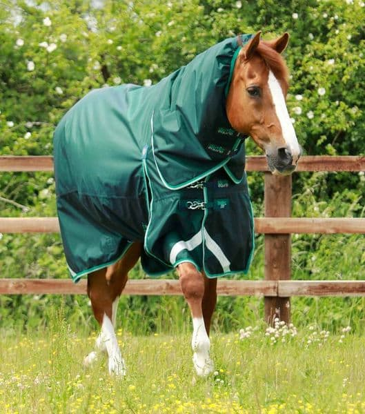 Premier Equine Buster 200g Turnout Rug with Snug-Fit Neck Cover