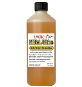Ametech METAL-TEC10 Metal Conditioner & Anti-friction Oil Additive