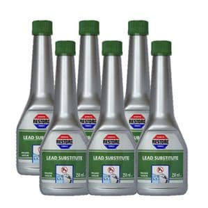 Special Offer! SIX 250ml bottles Ametech RESTORE Lead Substitute (petrol additive)
