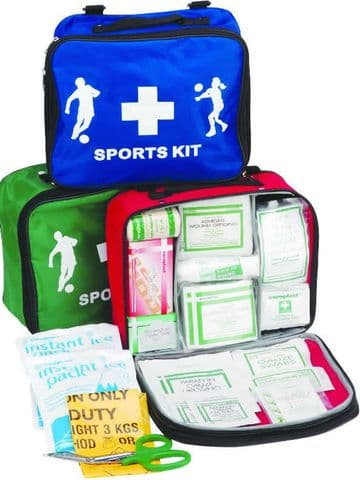 Basic Sports Kit (Red) - In a Red Sports Bag