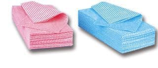 Multi Purpose  Cleaning Cloths Blue -J Cloths Type (50 pack)