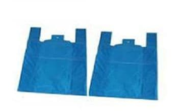 Blue Vest Recycled Plastic Carrier Bags (1000)