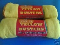 yellow dusters for cleaning
