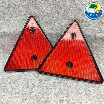 2 x Reflective Triangles For Trailer, Caravan, Ifor Williams, Indespension WB301