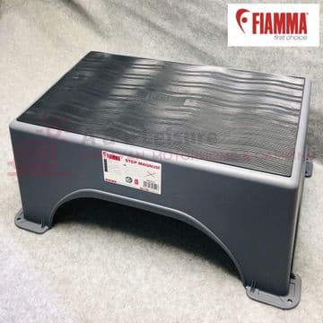 Fiamma Heavy Duty Magnum Platinum Step & Fiamma Rubber STEP MAT Included -  AL69