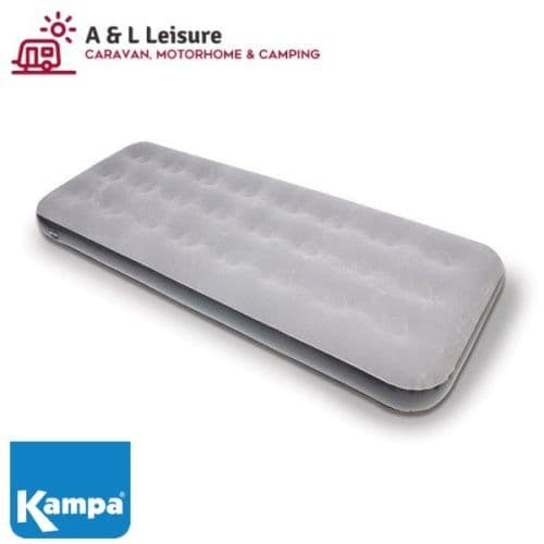 Kampa Single Airlock Bed . Air Bed, Inflatable Camping Bed. Tent, Awning