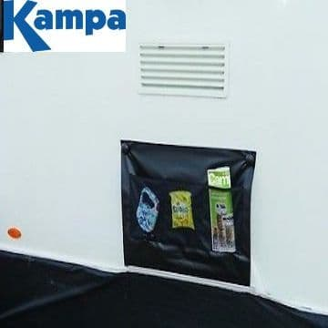 Kampa Single Wheel Arch Cover BLACK - With Limpet attachment system