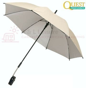 Quest Universal Clamp On Sunshade - Fits Virtually Any Garden Chair - 118914DP
