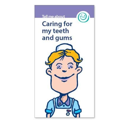 'Caring for my teeth and gums' booklets
