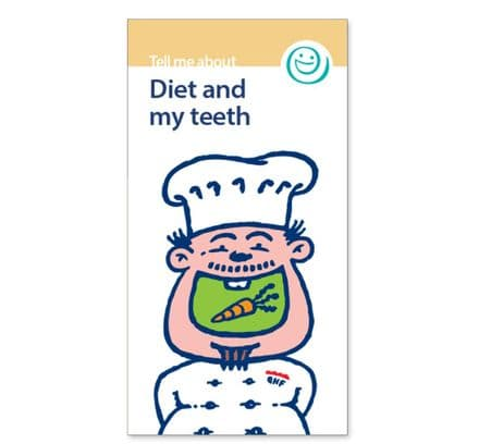 'Diet and my teeth' leaflets