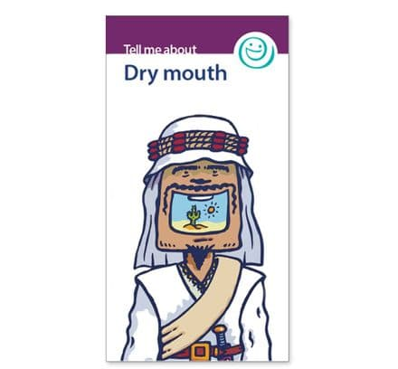 'Dry mouth' leaflets