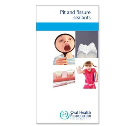 'Pit and fissure treatments' prestige leaflets