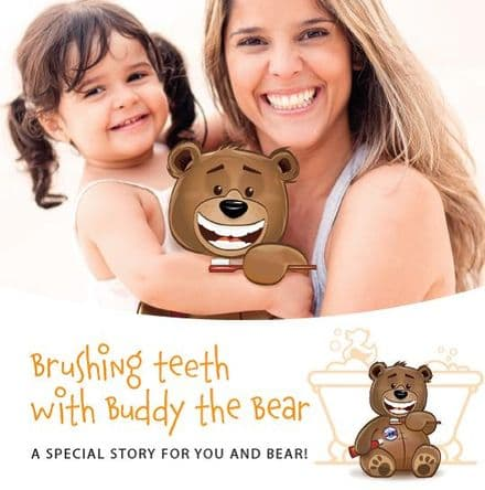 Brushing Teeth with Buddy the Bear