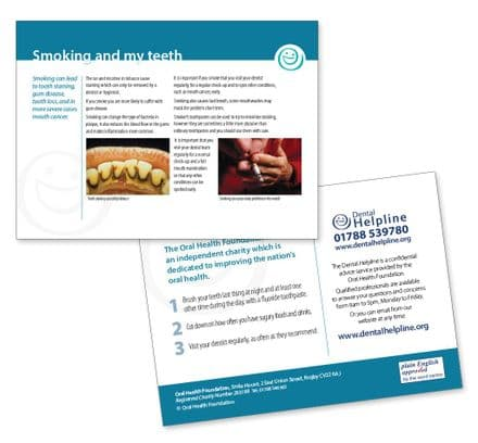 InfoBite - Smoking And My Teeth