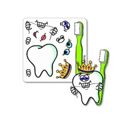 Make Your Own Tooth Guy stickers