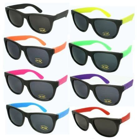 Neon UV sunglasses