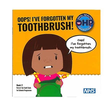 Oops! I've forgotten my toothbrush