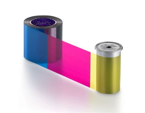Entrust Sigma DS YMCKT Full Colour Ribbon, 500 Prints