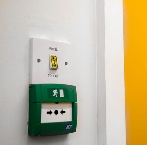 Veraco Safe Button™ - Antimicrobial Exit Door Switch Buttons